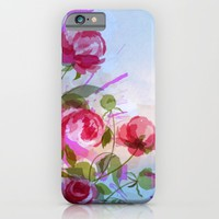 joyful flowers iPhone & iPod Case by Clemm