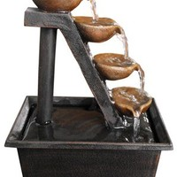 Alpine WCT324 4-Tier Step Tabletop Fountain
