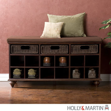 Holly & Martin MacKenzie Shoe Bench