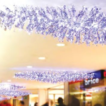 Set of 70 Yellow Gold LED M5 Icicle Christmas Lights White Wire