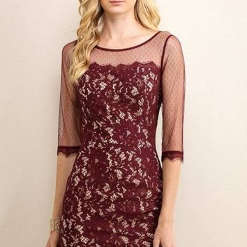 Love in Paris Lace Dress