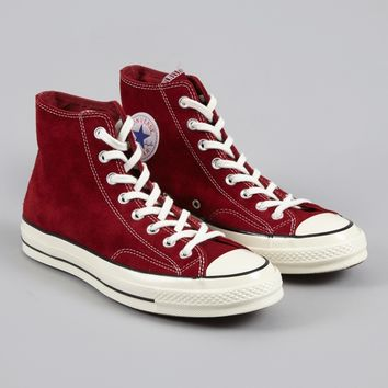 Converse 1970s Chuck Taylor All Star Hi Suede - Red Dahlia