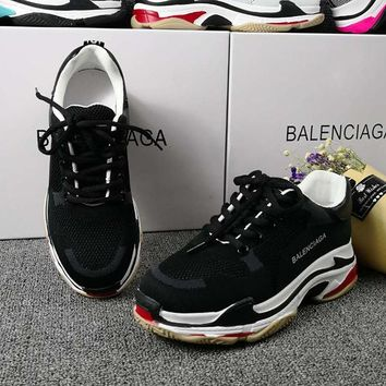 Balenciaga Women Fashion Breathable Sneakers Sport Shoes