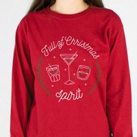 Full of Christmas Spirit Long Sleeve