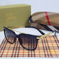 Perfect BURBERRY Women Casual Popular Summer Sun Shades Eyeglasses Glasses Sunglasses