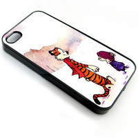 Calvin and hobbes iPhone 4/4s/5/5c/5s, Samsung Galaxy S2/S3/S4, iPod 4/5
