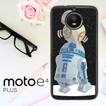 Star Wars R2D2 Bb8 L1708 Motorola Moto E4 Plus Case