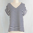 Nautical Short Sleeves Pastry Picks Top in Stripes by ModCloth