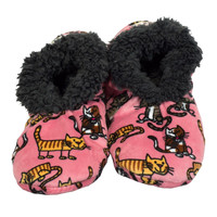 Cat Nap Fuzzy Feet Womens Slippers
