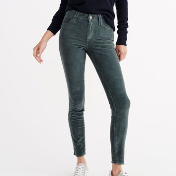 SUPER SKINNY CORDUROY PANTS