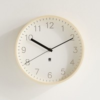 Umbra Rimwood Clock | Urban Outfitters