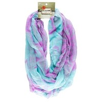 Lavender & Turquoise Infinity Scarf | Shop Hobby Lobby