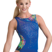 Radiant Royal Sparkle Leotard from GK Elite