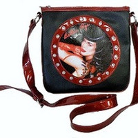 Bettie Page Messenger Bag