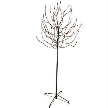 Bud Tree Yard Art - 140 Led Pink Mini Lights