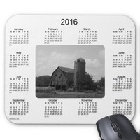 2016 Barn Calendar by Janz Mouse Pad