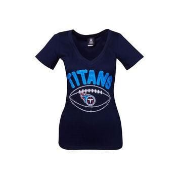 Tennessee Titans NFL Womens Baby Jersey Football T-Shirt