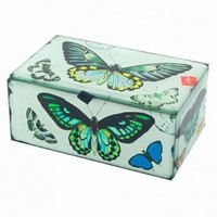 Wake Up Frankie - Butterfly Glass Box : Teen Bedding, Pink Bedding, Dorm Bedding, Teen Comforters