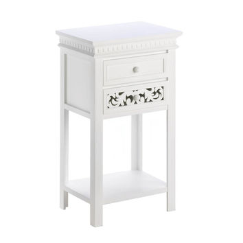 FLEUR-DE-LIS SIDE TABLE