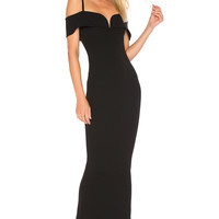 Nookie Pretty Woman Gown in Black | REVOLVE