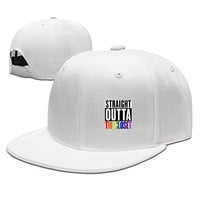 Driver Straight Outta The Closet Gay Lesbian Pride Cap For Mens