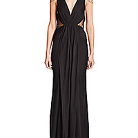 Haute Hippie - Chain-Embellished Gown - Saks Fifth Avenue Mobile