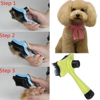Pet Dog Cat Hair Fur Shedding Trimmer Grooming Rake Professional Comb Brush WI sa = 1930079236
