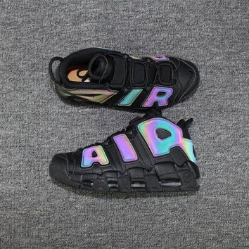 DCCKUN6 Nike Air More Uptempo AIR All Black 3M Sneaker 922845-001