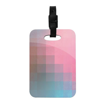 "Danny Ivan ""Girly Pixel Surface"" Decorative Luggage Tag"