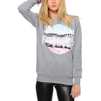 Glamour Kills Lifes A Beach Crew Neck Sweatshirt