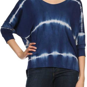 Ginger G Tie Dye Shirt for Women K7206