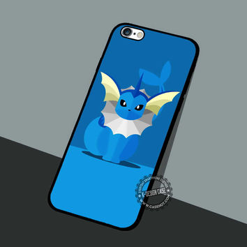 Vaporeon Pokemon Wallpaper - iPhone 7 6 5 SE Cases & Covers