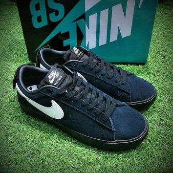 LMFUX5 Nike Blazer Sb GT Grant Taylor Black White Low Casual Shoes Sport Shoes 716890-001