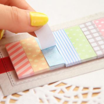 Cute 1  Flags printed  Mini Sticky Notes