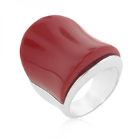 Big Red Cocktail Ring