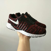 """""""Nike"""" Fashion Casual Male Female Breathable Comfortable Fly Weave Couple Unisex Sneakers Running Shoes"""