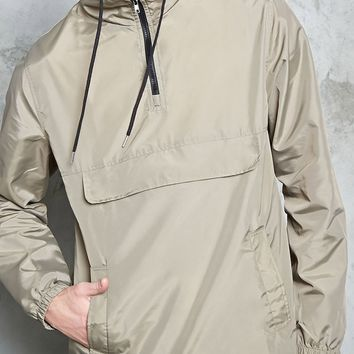 Hooded Zip-Front Anorak