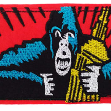 Large & Cool Monkey Ape Vintage Comic Patch 12cm Applique