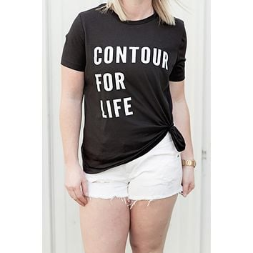 Contour for Life Tee