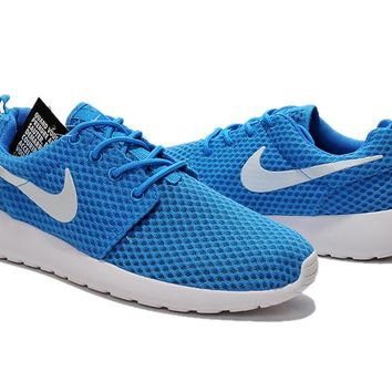 """Nike Roshe Run BR"" Men Sport Casual Honeycomb Net Cloth Breathable Sneakers Running Shoes"