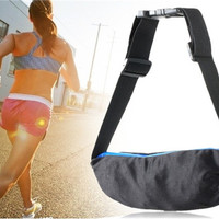 Stretch Outdoor Waterproof Stretch Waist Bag Fanny Pack (Blue)