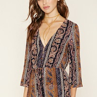 Abstract Paisley Romper | Forever 21 - 2000171001