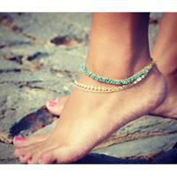 Lovemely Anklet- Triple Chain - Choose Your Color!