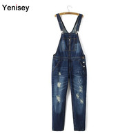 Fashion Promotion Overalls Low Cotton Women Jeans Hy70-8034 And The Wind In Autumn Of 2015 New Fashion Jeans Strap 0902