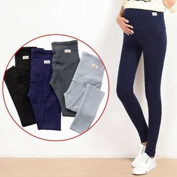Maternity Soft cotton Pants/Leggings with Elastic Belly Support