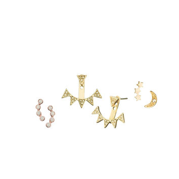 Rock Queen Earring Stud Set
