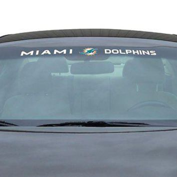 Miami Dolphins NFL Licensed Auto Car Truck Windshield Decal
