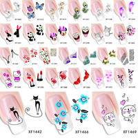 DIY Decals Nails Art Water Transfer Printing Stickers Accessories For Manicure Salon
