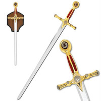 Free Mason Sword with Plaque