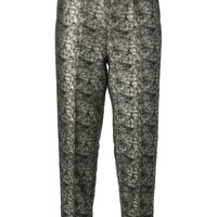 Forte Forte distressed effect trousers